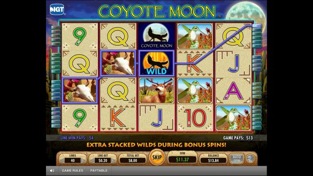 популярный слот Coyote Moon 8