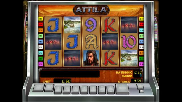 игровой автомат Attila 5