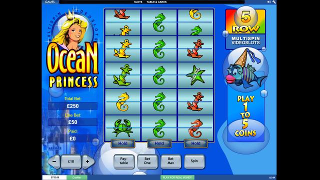популярный слот Ocean Princess 9