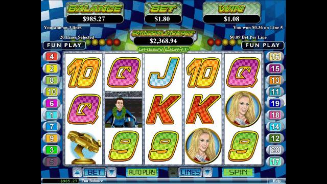 игровой автомат Green Light 3