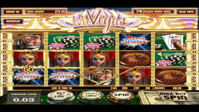 игровой автомат Mr. Vegas 10