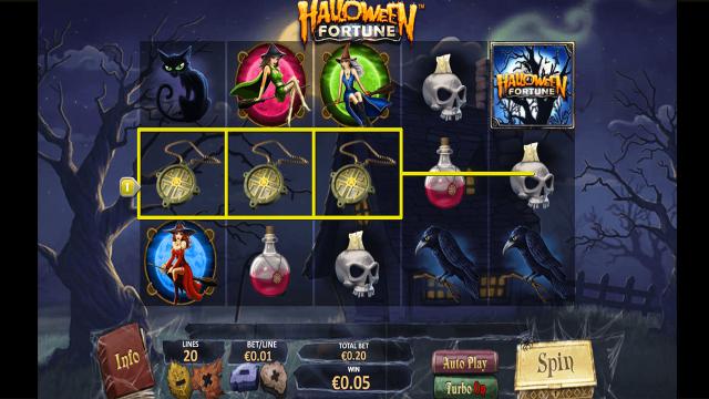 онлайн аппарат Halloween Fortune 6