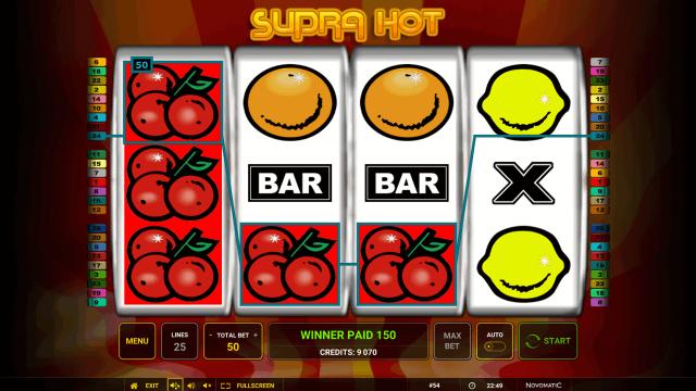 популярный слот Supra Hot 7