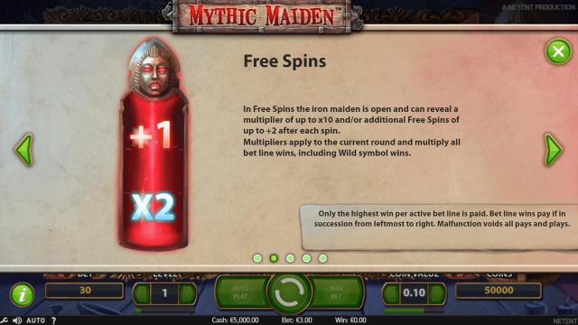 онлайн аппарат Mythic Maiden 2