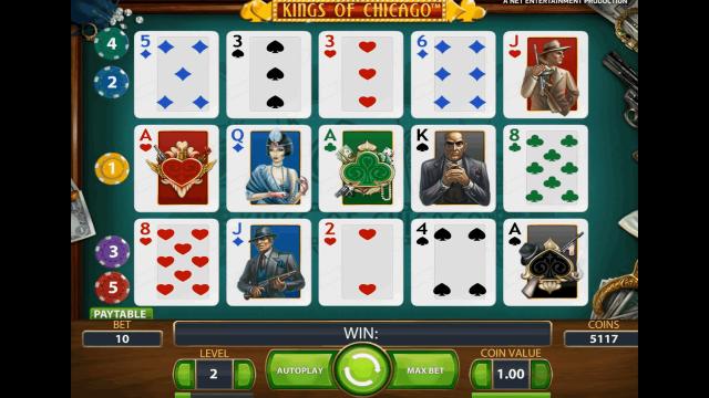 игровой автомат Kings Of Chicago 3
