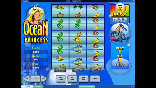 онлайн аппарат Ocean Princess 6