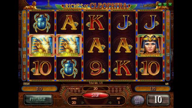 онлайн аппарат Riches Of Cleopatra 5