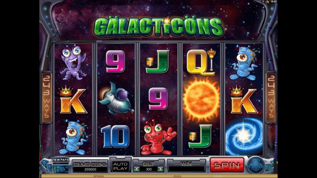 популярный слот Galacticons 1