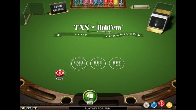 игровой автомат TXS Hold'em Pro Series 3