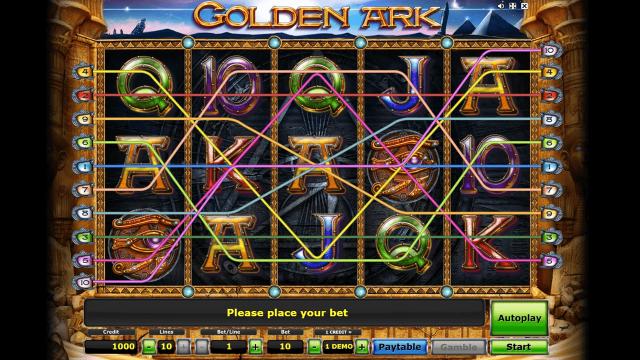 игровой автомат Golden Ark 7