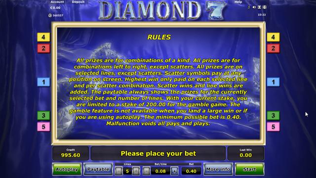популярный слот Diamond 7 6