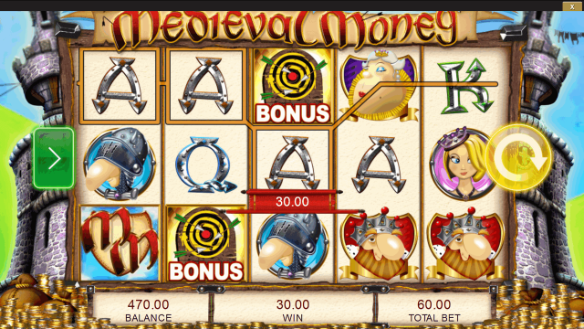 игровой автомат Medieval Money 9