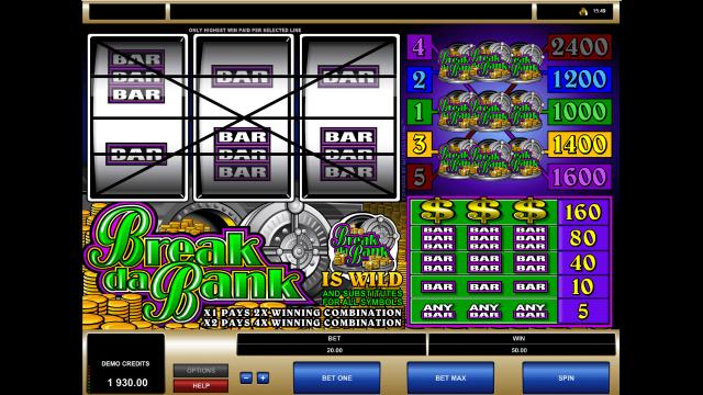 игровой автомат Break Da Bank 8