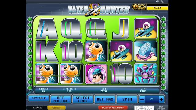 онлайн аппарат Alien Hunter 5