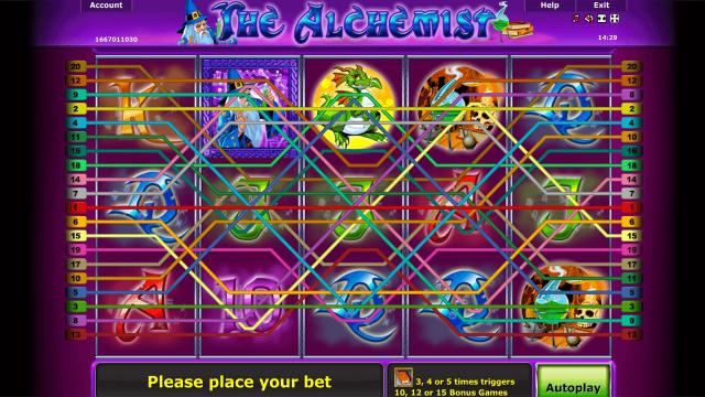 популярный слот The Alchemist 6