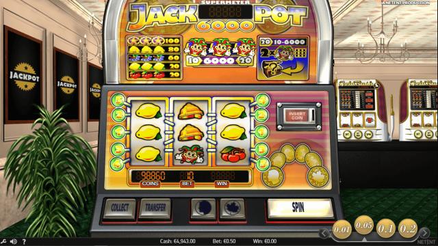 игровой автомат Jackpot 6000 7