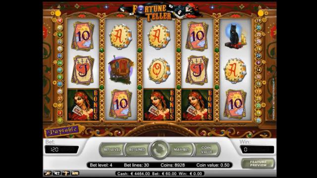онлайн аппарат Fortune Teller 5