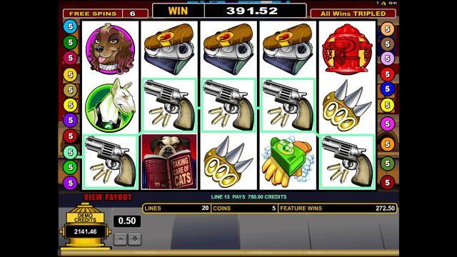 игровой автомат Dogfather 8