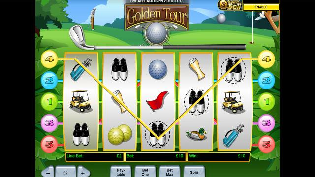 игровой автомат Golden Tour 7