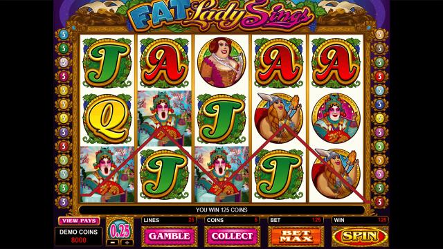 игровой автомат Fat Lady Sings 2
