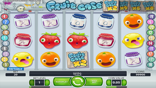 онлайн аппарат Fruit Case 9