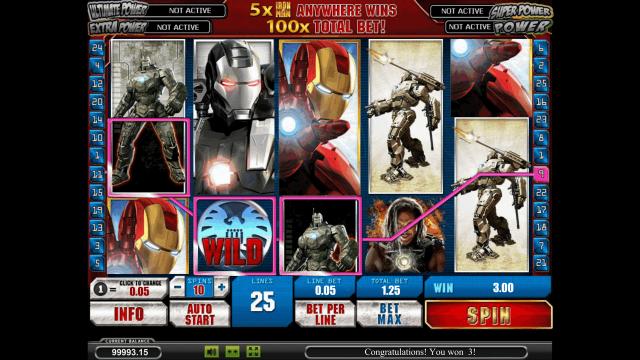 онлайн аппарат Iron Man 2 4
