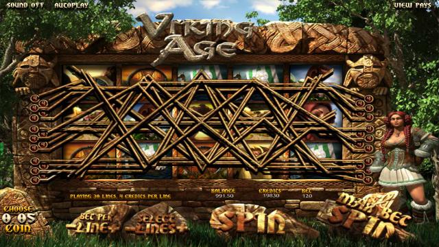 популярный слот Viking Age 9