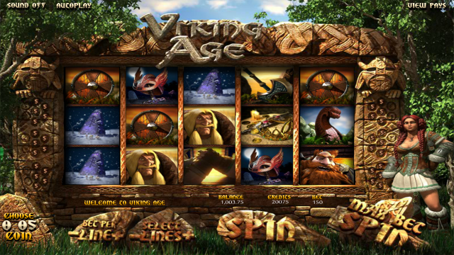 игровой автомат Viking Age 7