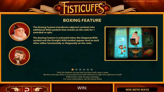 игровой автомат Fisticuffs 4