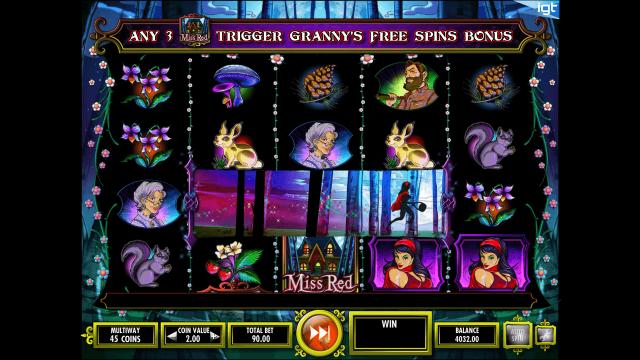 игровой автомат Miss Red 3
