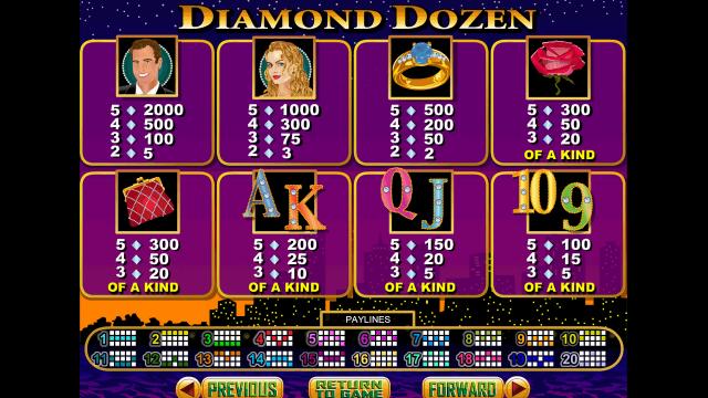 игровой автомат Diamond Dozen 8