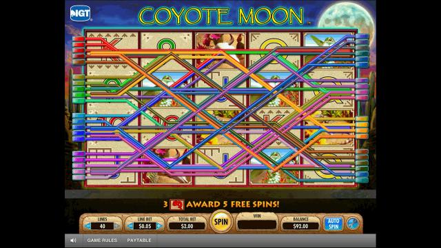 популярный слот Coyote Moon 9