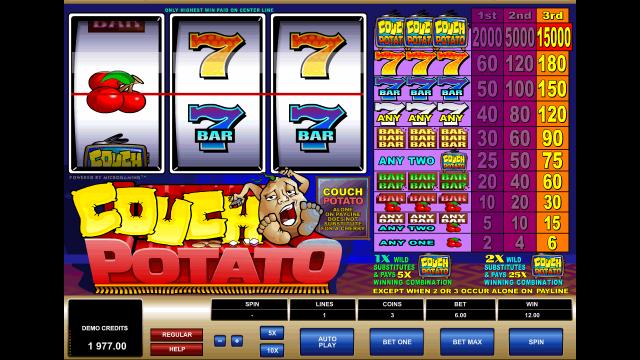 игровой автомат Couch Potato 6