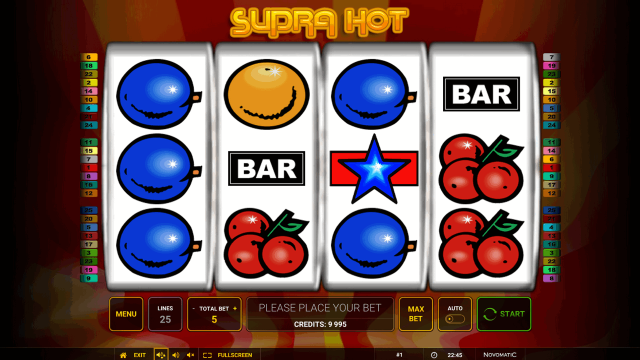 онлайн аппарат Supra Hot 1