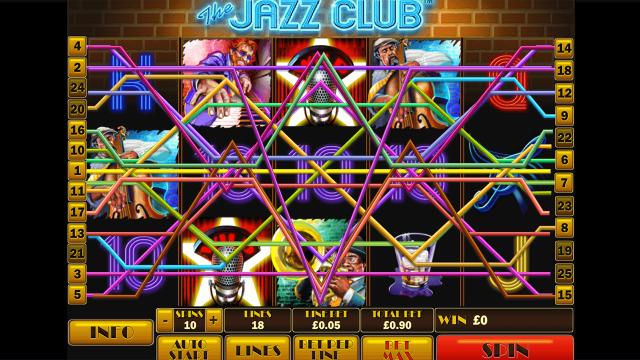 онлайн аппарат The Jazz Club 8