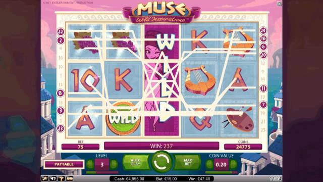 популярный слот Muse 3