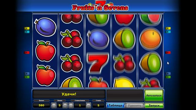 популярный слот Fruits' N Sevens 9