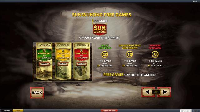игровой автомат Sun Wukong 7