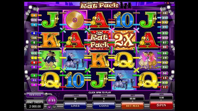 игровой автомат The Rat Pack 1