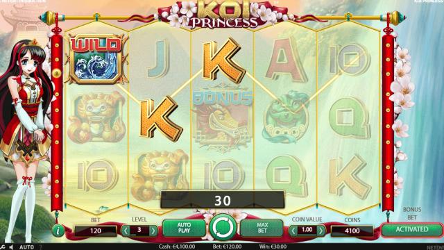 игровой автомат Koi Princess 9
