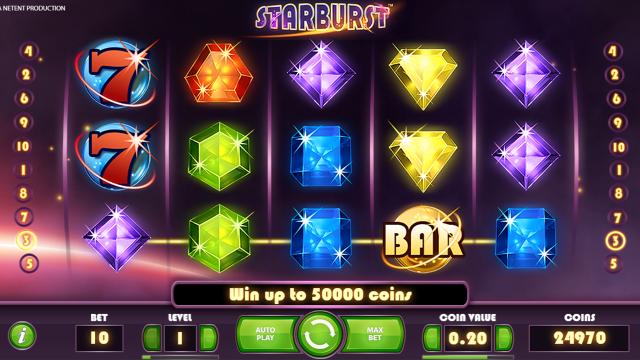 игровой автомат Starburst 3