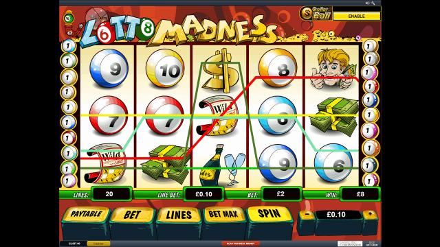 онлайн аппарат Lotto Madness 9