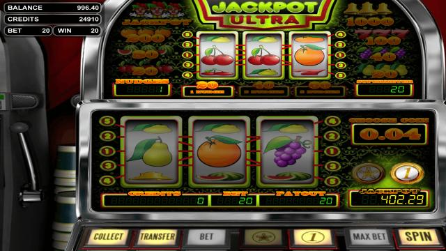 онлайн аппарат Jackpot Ultra 9