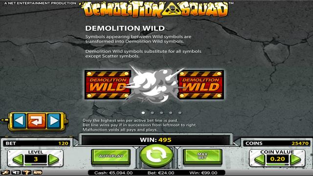 игровой автомат Demolition Squad 1