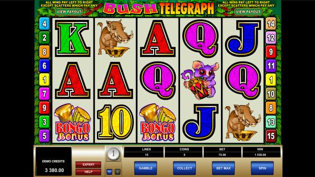 игровой автомат Bush Telegraph 5