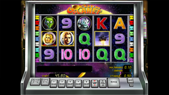 игровой автомат Golden Planet 4