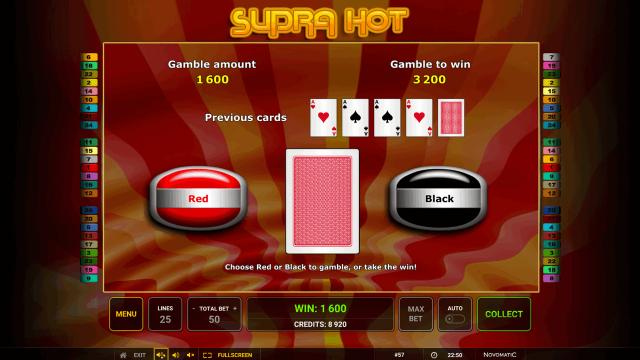онлайн аппарат Supra Hot 9