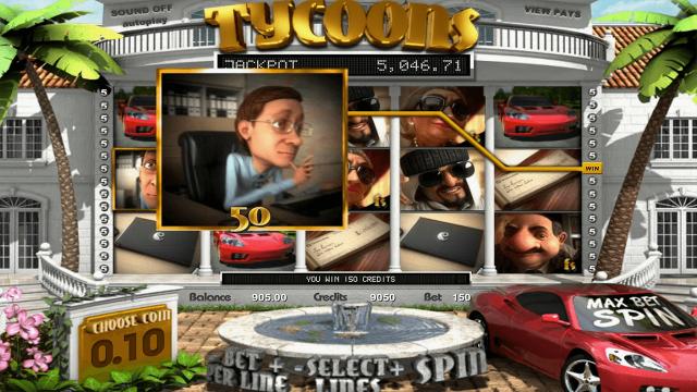 популярный слот Tycoons 10