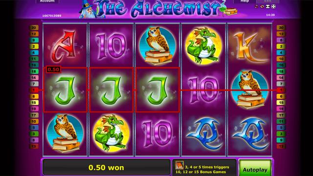 игровой автомат The Alchemist 8