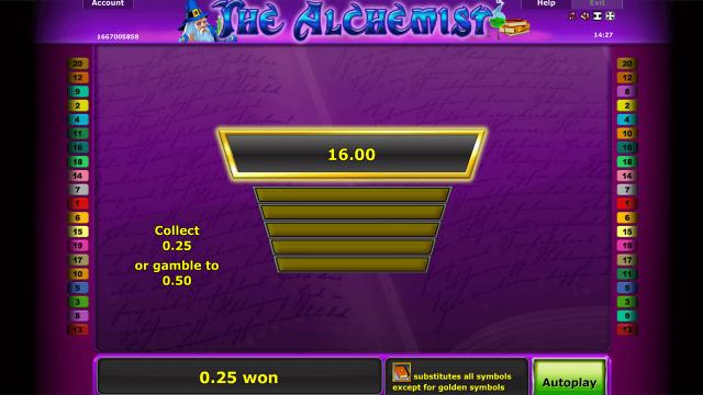 онлайн аппарат The Alchemist 3